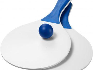 Plážová míčová hra Matira bílá modrá